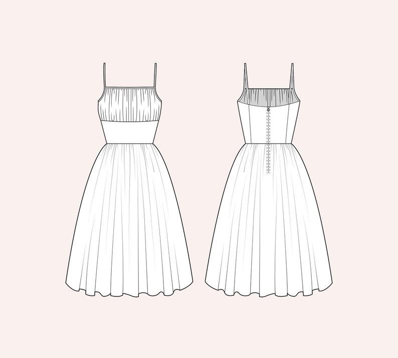 Choose a fabric: Grace Dress image 0
