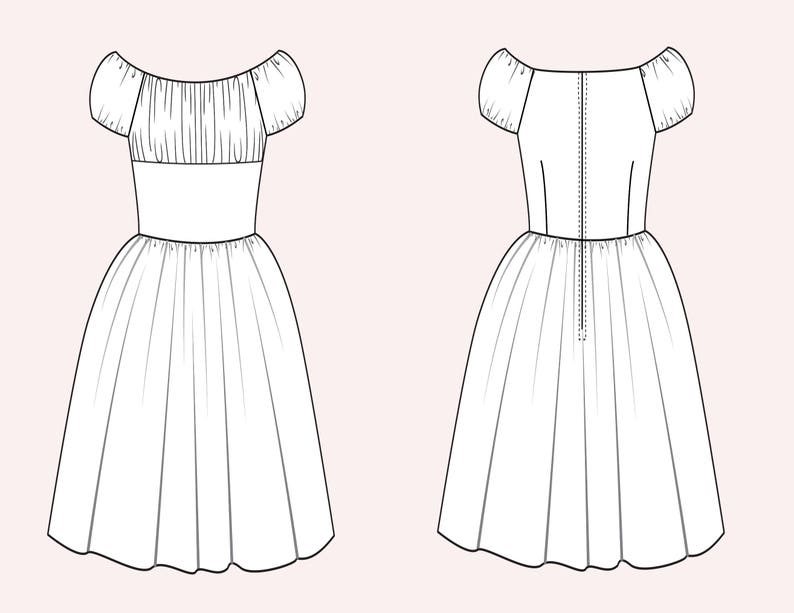 Loretta Dress White Si Senorita