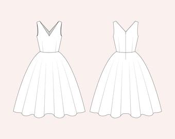 Choose a fabric: Diana Dress