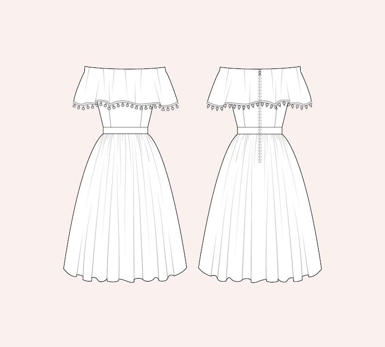 Choose a fabric: Francesca Dress image 0