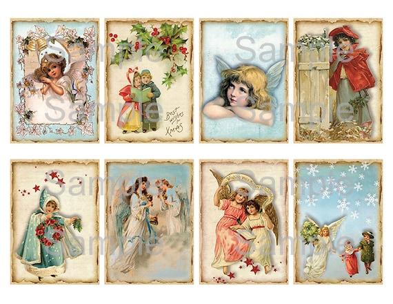 digital labels Junk Journals ephemera romantic flower images for gifts cardmaking cards Printable Download Vintage hang tags scrapbook