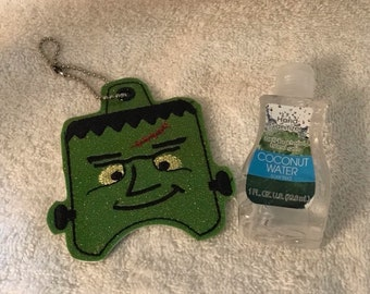 Hand Sanitizer Holder - Free Shipping-Halloween Themed - Frankenstein