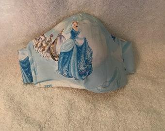 Kid's Mask - Designed for ages 2-8 - Disney - Cinderella