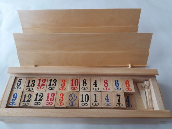 Rummy Cup Holz