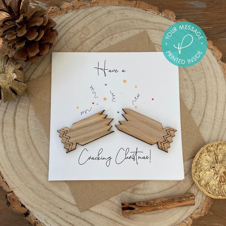 Cracker Christmas Card Holiday Card Christmas Card