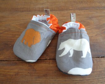 Slippers fabric for baby - 12/18 months