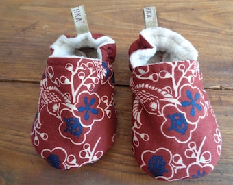Slippers fabric for baby - 9/12 months
