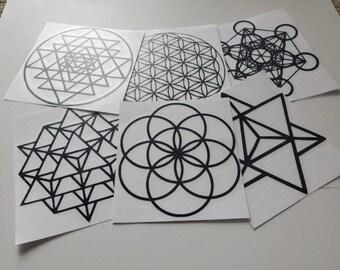 Sacred geometry | Etsy