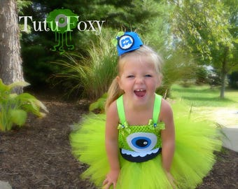 Monsters Inc Tutu Dress 094bef8f2b14