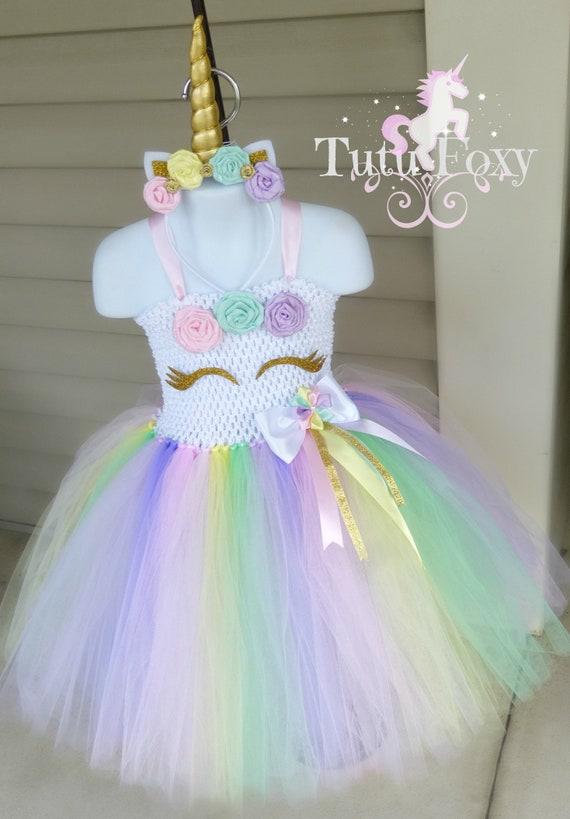 Unicorn Tutu Dress Unicorn Dress Unicorn Costume Unicorn | Etsy