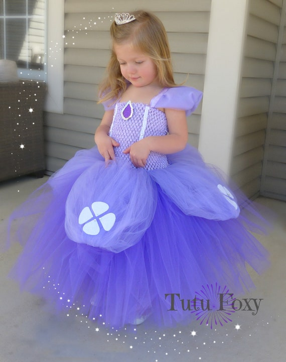 Sofia the First Tutu Dress Sofia the First Tutu Sofia the | Etsy