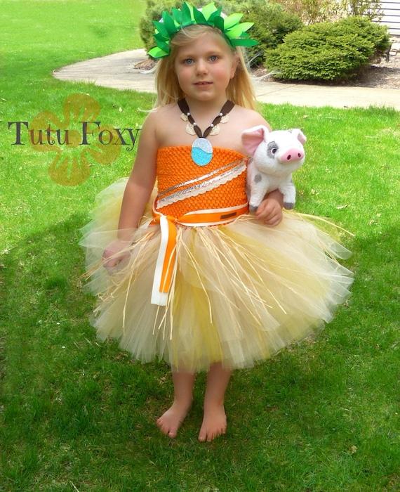 Vestido De Moana Tutu Traje De Moana Cumpleaños De Moana Vestido De Moana Cumpleaños De Princesa Traje De Princesa Vestido De Princesa