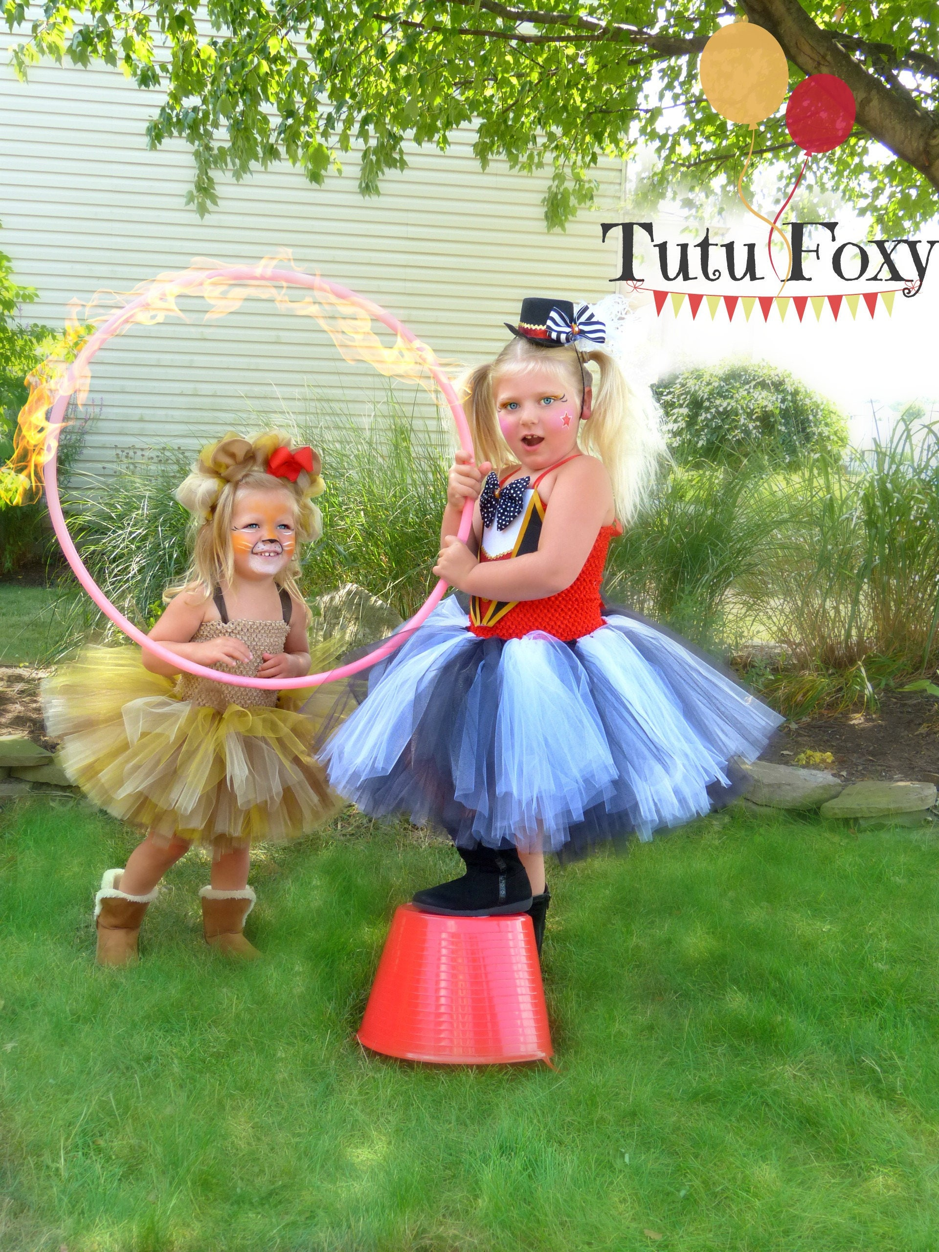 Circus tutu dress lion Costume Carnival Outfit Circus Costume Circus Birthday Outfit lion Tutu Dress