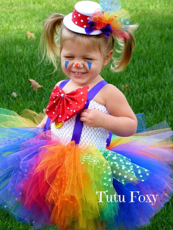 Clown Tutu Dress Clown costume Clown Tutu Carnival Birthday
