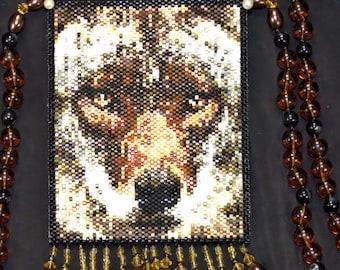 coyote amulet bag