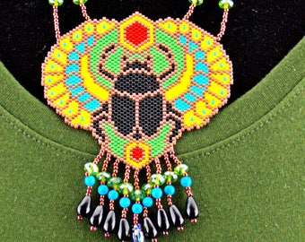 Beaded Egyptian Necklace