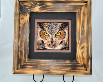 Beaded Owl Picture