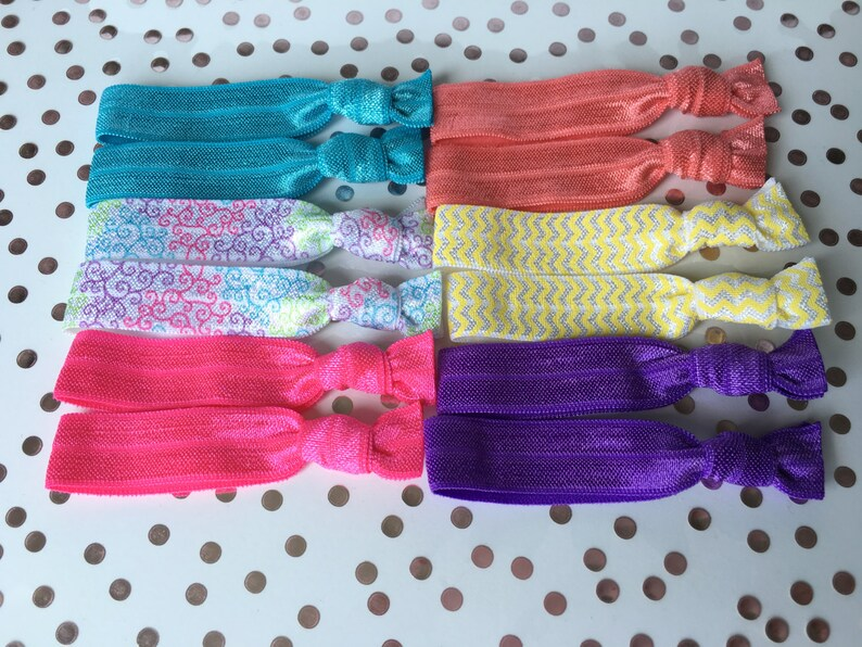 Mini Hair Ties. Small elastic hair ties little girl hair  fdbfbcbe926