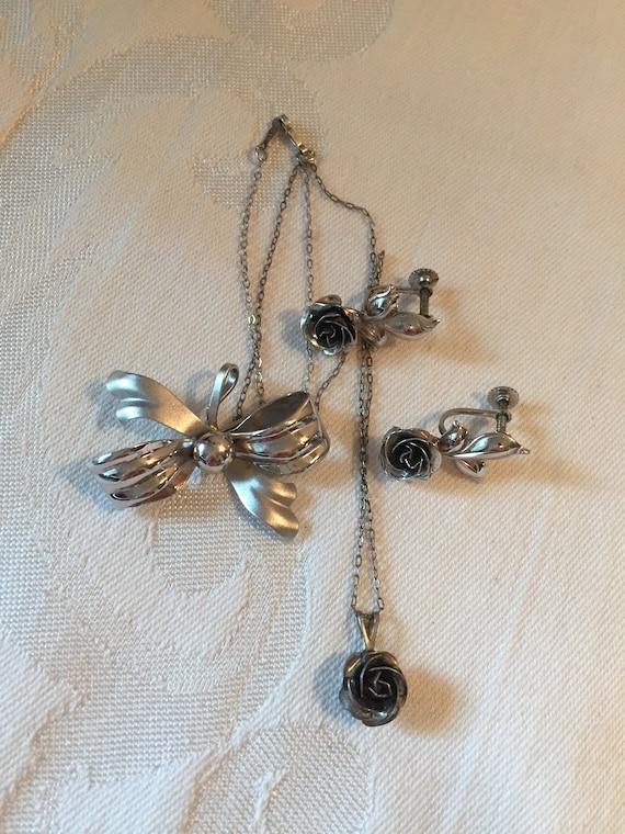 Bond Boyd Jewelry   Vintage Silver Jewellery Lot