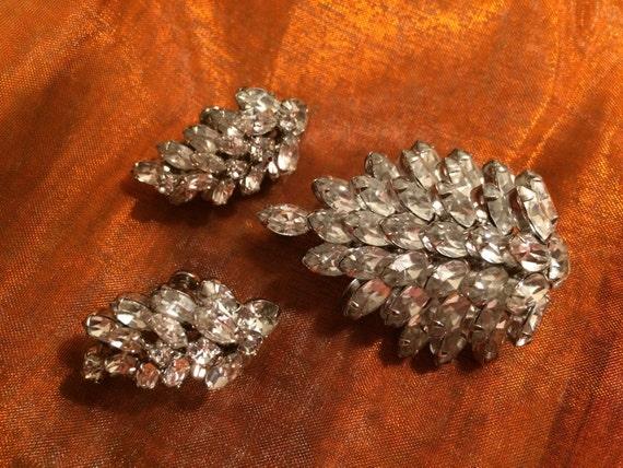 SHERMAN Brooch & Earring Set
