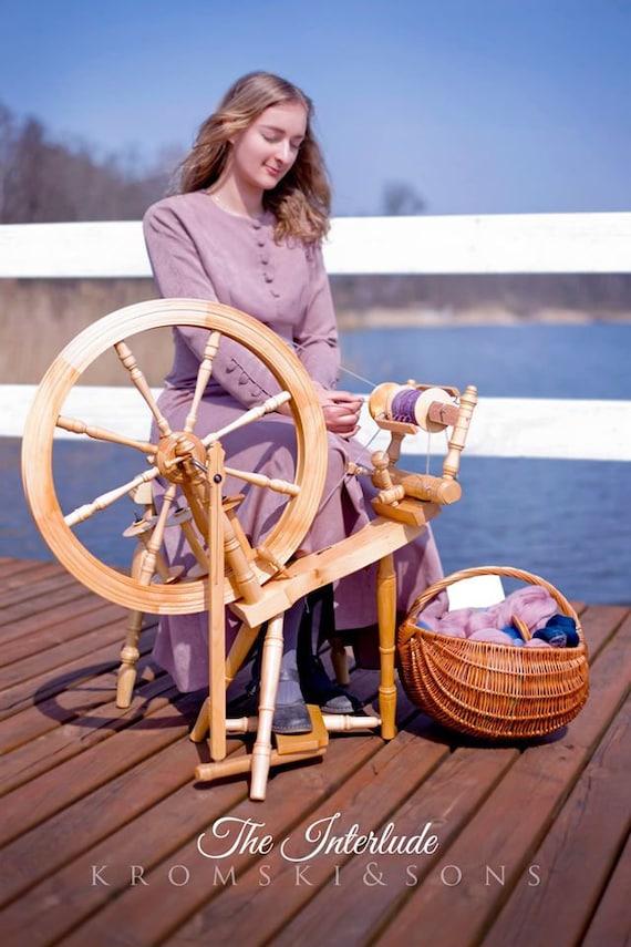 FREE Shipping Various Finishes FREEbies Kromski Interlude Spinning Wheel