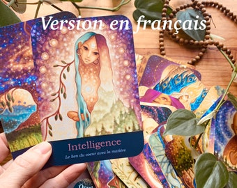 Card game in English Oracle The virtues of the heart