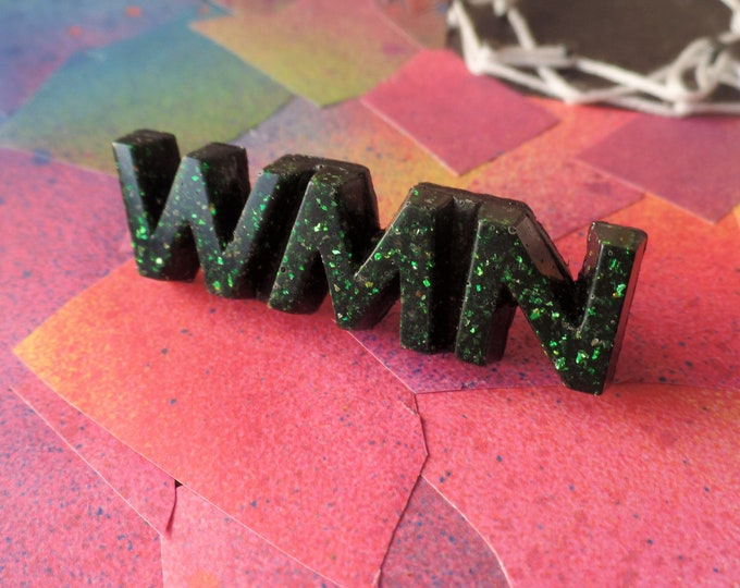 Black Emerald WMN Pin