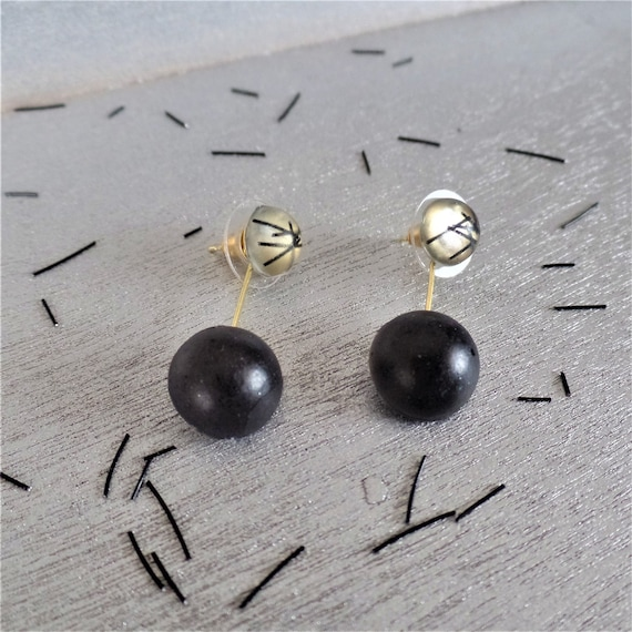 Lost Round Duo Earrings