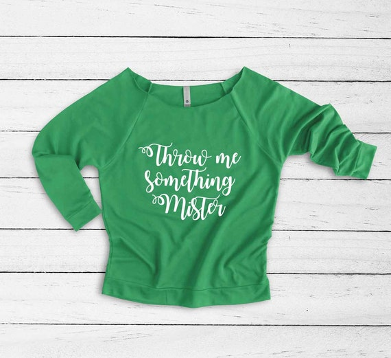 Throw Me Something Mister Funny Shirt Mardi Gras Zip Hooded Sweatshirt