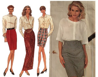 551b9ecc3ad2d Pencil skirt pattern | Etsy