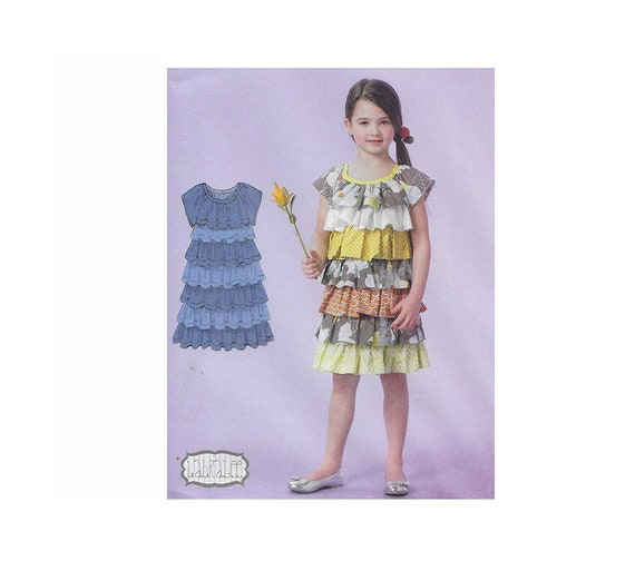 MCCALL/'S PATTERN  DRESS 2 DESIGNS GIRLS/' SIZE 2-3-4-5 or 6-7-8 # M7179