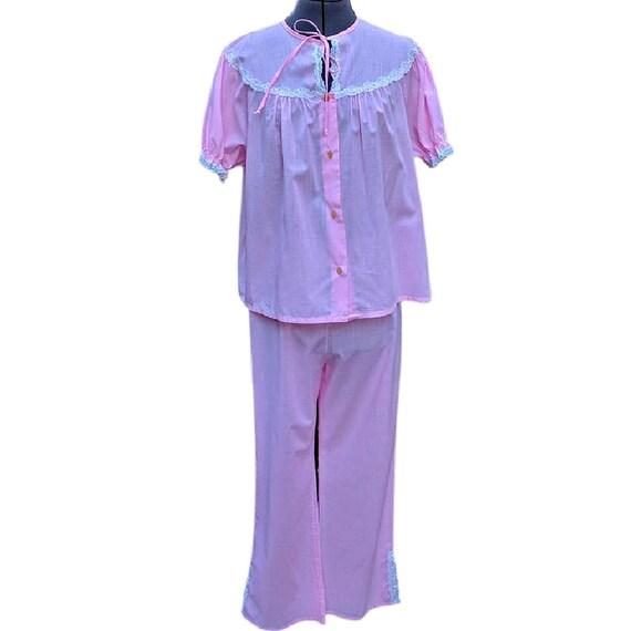 Vintage pink pajama set by LOVLEE