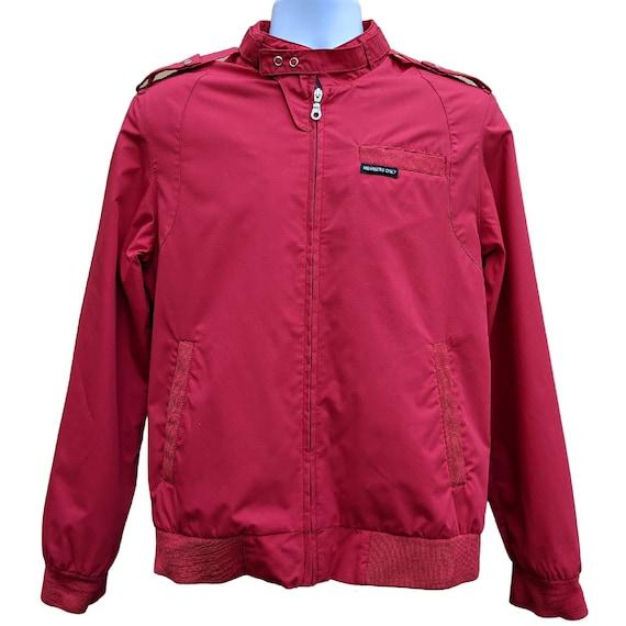 Vintage red Members Only jacket