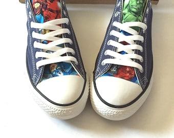Avengers Converse Shoes 93e23e142