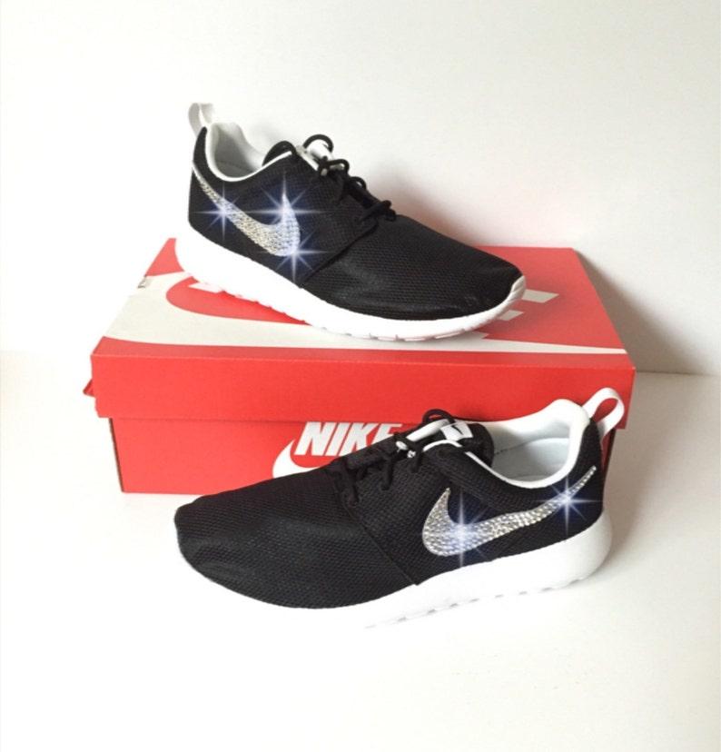 9724b8b5a5ed69 Bling Nike Roshe One Sneakers Swarovski Crystal Nike Roshe