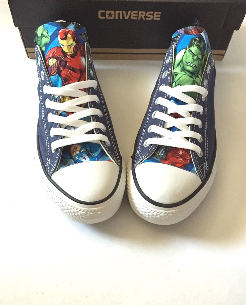 91d69503a6d839 Avengers Converse Shoes Men s Women s Avengers