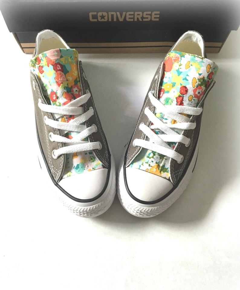 eaa7d38c10c Floral Converse Shoes Floral Chuck Taylors Flower Converse