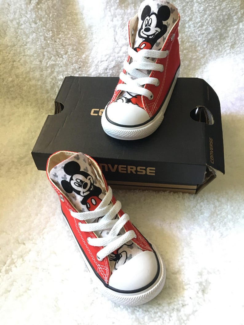 a020e912ea68 Mickey Mouse Converse Shoes Mouse Converse Mickey Shoes
