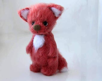 Fox Toy, Crochet Fox toy, Eco Toy, Fox Toy Woodland animal