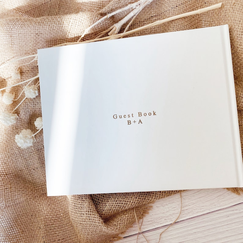 Guest Book Idea Wedding Guest Book Polaroid Foil Wedding Guest Book Alternative Rustic Wedding Guest Book Photo Guest Book