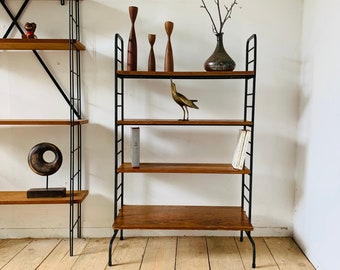 Self-supporting vintage bookcase Tomado string style