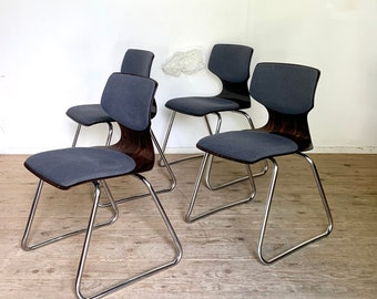 Vintage chairs Pagholz sled