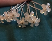 Diamante and Lucite Hair Pin Sets
