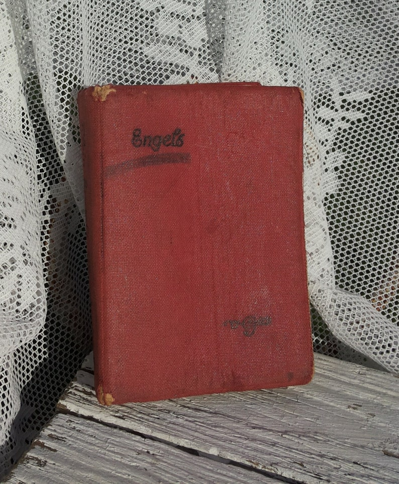 Retro English Dictionary * Vintage/Mini Size/1956 Van Goor  Jakarta/Language/Translation/Little Book/Words/14th Print/