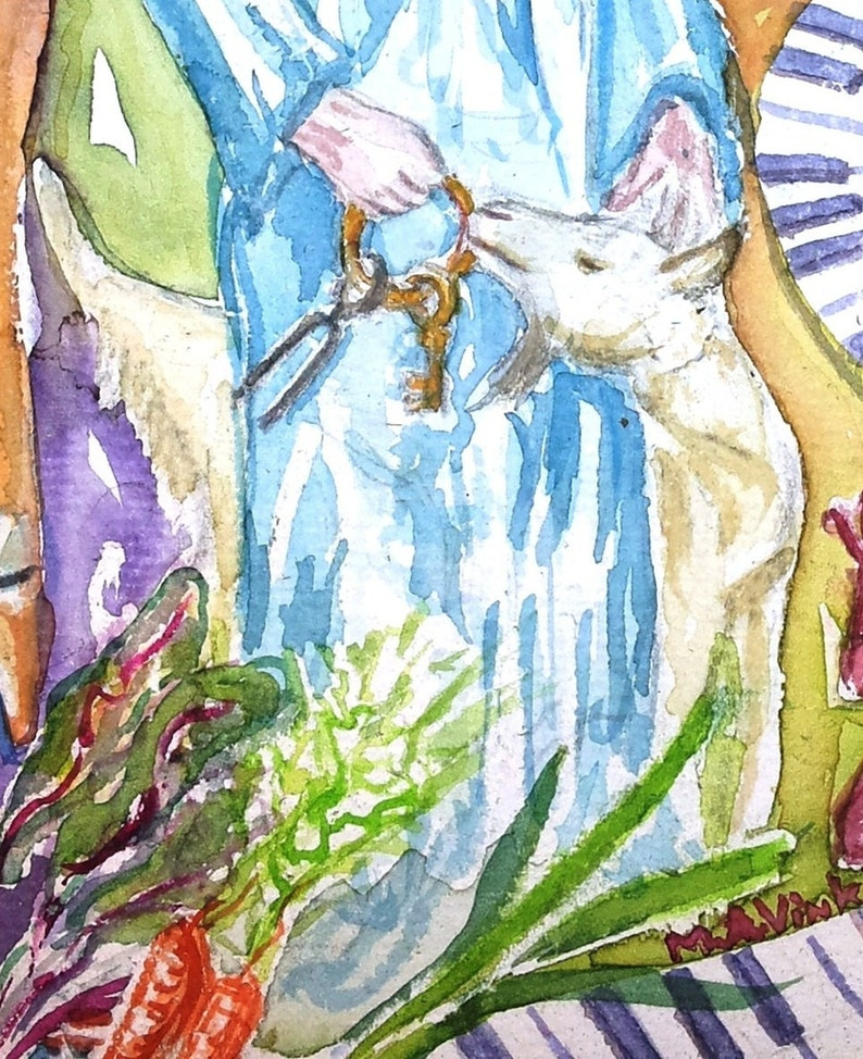 10 Art cards Cunera angel with goatlovingChristmas atmosphereorgan pipesChristmas cardAngelGoatwingsBlue DressAngelic