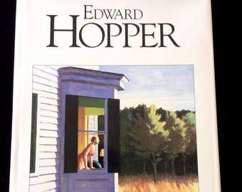 EDWARD HOPPER by Sherry Marker 1990 Hardcover w/DJ American Art Oversized