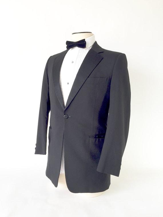 Vintage Tuxedo Jacket / Vintage Tux Jacket / 1960s