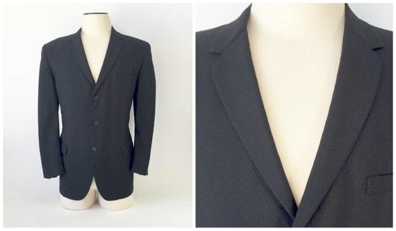 Vintage Tuxedo Jacket / Vintage Tux Jacket / 1950s