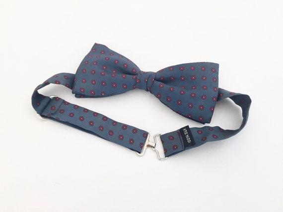 Vintage Bow Tie / Vintage Silk Bow Tie / Self Tie