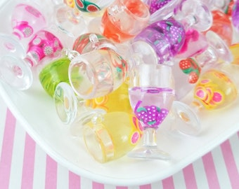 10 Pieces 1//12 Dollhouse Sipping Straws Doll Party Wedding Necessary Cyan